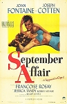 September Affair DVD