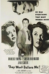 They Won't Believe Me DVD 1947