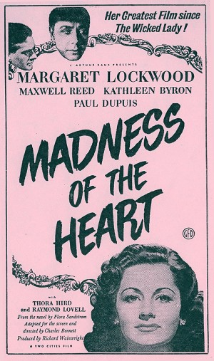 Madness Of The Heart DVD