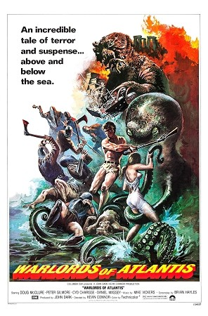 Warlords Of Atlantis DVD